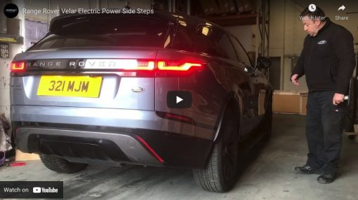 Automatic Electric Power Side Steps For Range Rover Velar