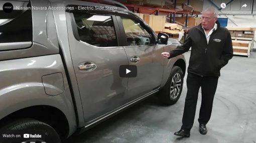 Automatic Electric Side Steps For Nissan Navara NP300