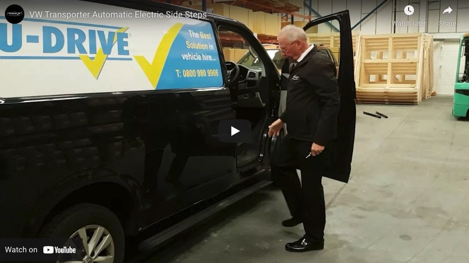 Automatic Electric Side Steps For Volkswagen VW Caravelle