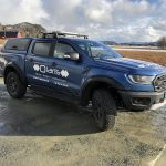 Ford Ranger Raptor Hardtop in Ford Performane Blue Pegasus 4x4
