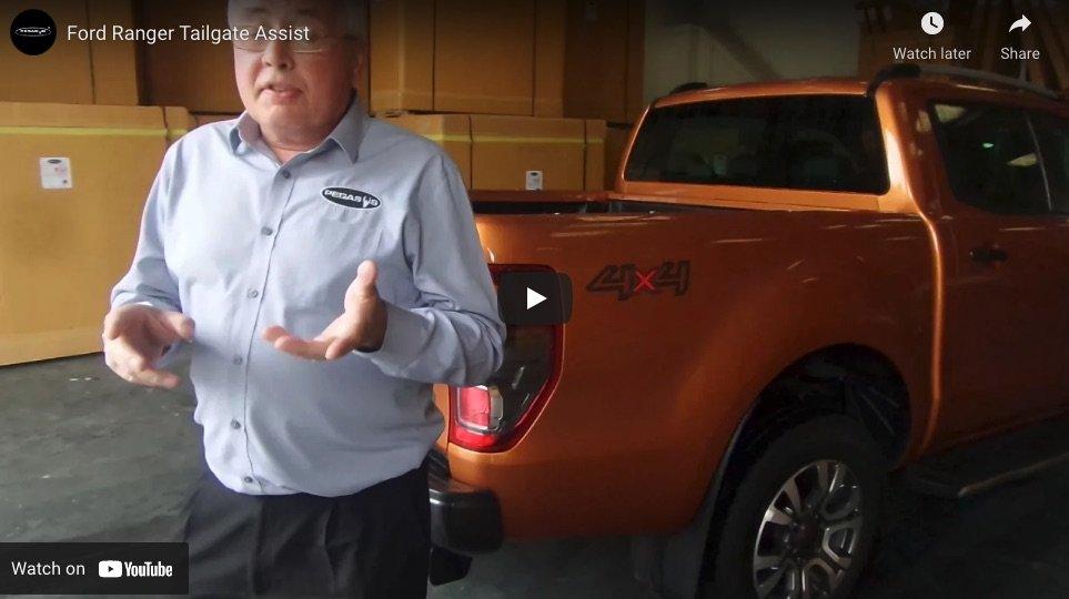 Ford Ranger MK5 And New Ranger Tailgate Assist