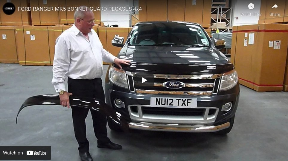 Ford Ranger MK5 Bonnet Guard
