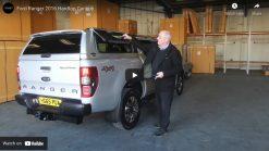 Ford Ranger Raptor Avantgarde Glazed Hardtop Canopy With Central Locking
