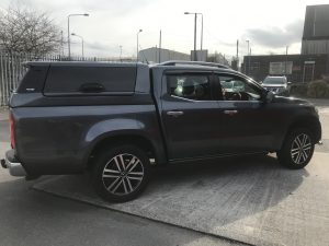 Mercedes-Benz X-Class Avantgarde hardtop with central locking – DISCOUNT SALE – WAS £2195.00 plus VAT NOW £1495.00 plus VAT