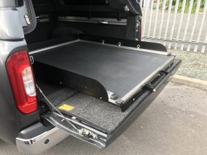 VW Amarok Sliding Floor Tray