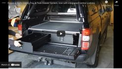 Mercedes-Benz X-Class Twin Drawer With Sliding Cargo Tray