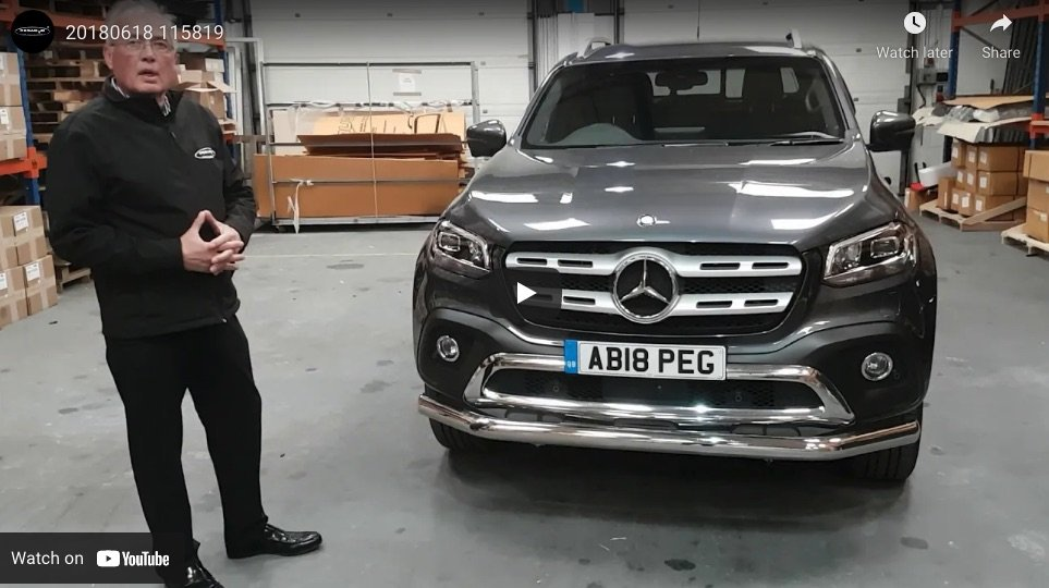 Mercedes-Benz X-Class Front Protection Bar