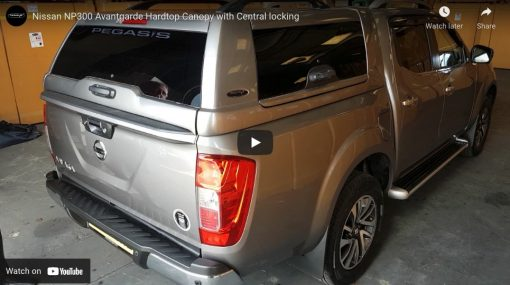 New Nissan Navara NP300 Avantgarde Glazed Hardtop Canopy With Central Locking