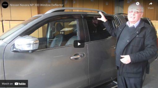 Nissan Navara NP300 Wind Deflectors