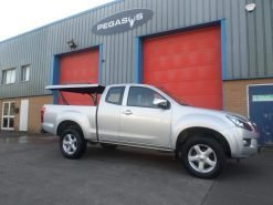 Isuzu D-Max Extended Cab Top Up Cover Tonneau Lid