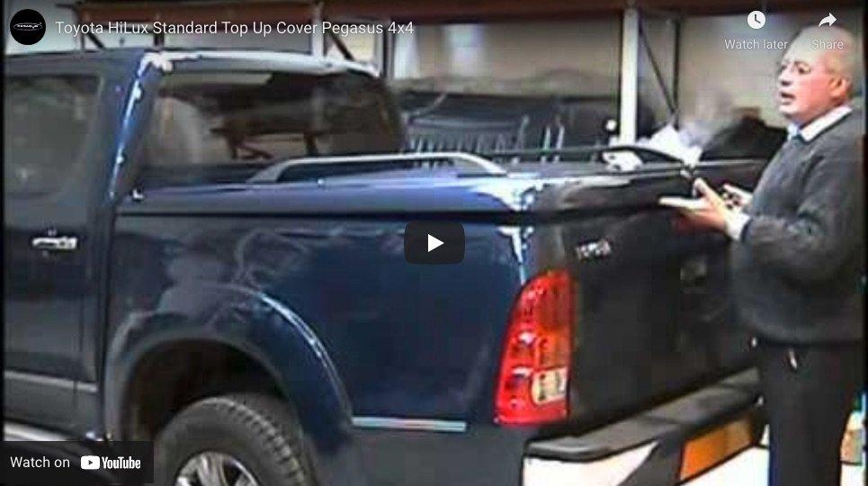 Toyota Hilux Standard Top Up Cover Tonneau Lid