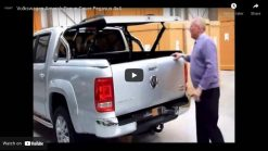 Volkswagen VW Amarok Top Up Cover Tonneau Lid with OEM Styling bar