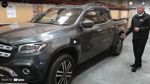 Automatic Electric Side Steps For New Mercedes-Benz X-Class – DISCOUNT SALE – WAS £995 plus VAT NOW £896.00 plus VAT