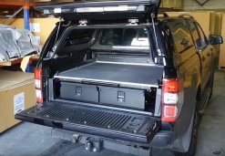 VW Amarok Twin Drawer With Sliding Cargo Tray