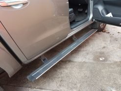 Nissan Navara Electric Side Steps