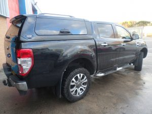 ford ranger canopy sea grey Pegasus 4x4