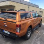 Mk5 Ford Ranger Avantgarde Glazed Hardtop Canopy With Central Locking