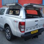 Ford Ranger MK6 Avantgarde Glazed Hardtop Canopy With Central Locking