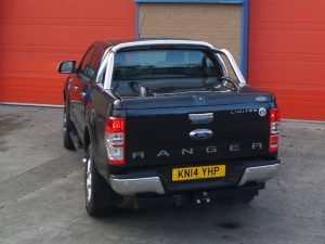 Ford MK5 & MK6 New Ranger Top Up Cover with Styling Bar
