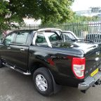 MK5 & MK6 Ford Ranger Top Up Cover Tonneau Lid with Styling Bar