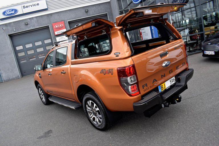 ford ranger avantgarde hard top canopy in pride orange