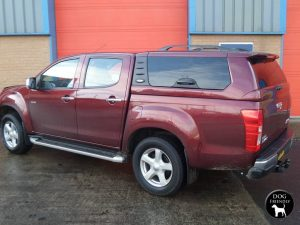 Isuzu D-Max Avantgarde Glazed Hardtop With Central Locking