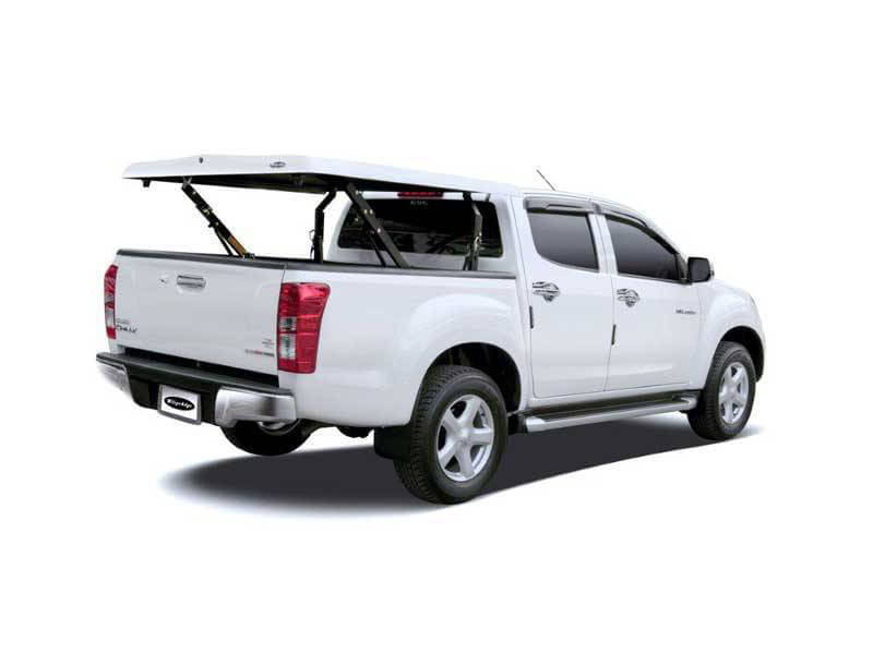 isuzu d max standard top up cover pegasus 4x4 uk. Black Bedroom Furniture Sets. Home Design Ideas