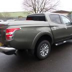 Mitsubishi L200 Series 5 Long Bed Standard Top Up Cover Tonneau Lid