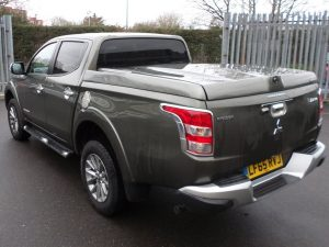 mitsubishi l200 series 5 top up cover standard tonneau lid 5 Pegasus 4x4