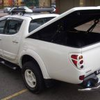 Mitsubishi L200 Longbed Top Up Cover