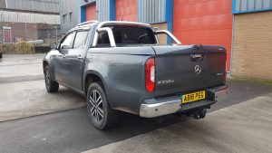 Mercedes-Benz X-Class Sports Lid Tonneau Cover With Style Bars