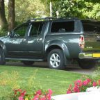 Nissan Navara D40 Avantgarde Glazed Hardtop Canopy With Central Locking