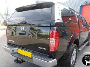 Nissan Navara D40 Avantgarde Glazed Hardtop Central Locking