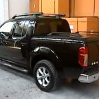 Nissan Navara D40 Top Up Cover Standard Tonneau Lid