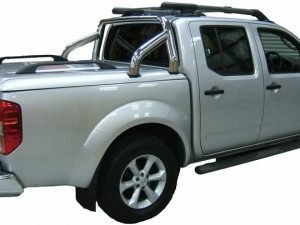 Nissan Navara D40 Top Up Cover Tonneau Lid Styling Bar