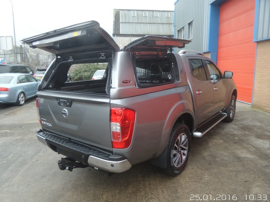 nissan navara accessories uk hardtops tonneau covers. Black Bedroom Furniture Sets. Home Design Ideas