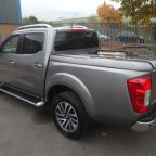 Nissan Navara NP300 Sports Lid Tonneau Cover Without Style Bars