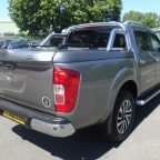 Nissan NP300 Sports Lid Tonneau Cover With Style Bars