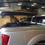 New Nissan Navara NP300 Top Up Cover Tonneau Lid Without Styling Bar