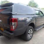 Ford Ranger Hardtop with Solid Sides and Central Locking