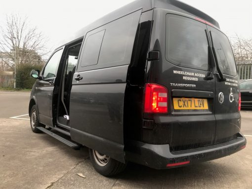 Automatic Electric Side Steps For Volkswagen VW Transporter T6