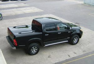 Toyota Hilux Standard Top Up Cover Tonneau Lid