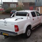 Toyota Hilux Top Up Cover With Styling Bar