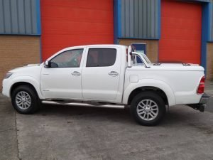 toyota hilux top up cover styling bars tonneau lid 8 Pegasus 4x4