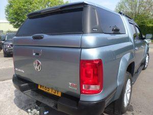 Volkswagen Amarok Avantgarde Glazed Canopy with Central Locking