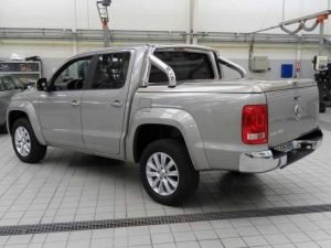 Volkswagen VW Amarok Sports Lid Tonneau Lid with Styling Bar