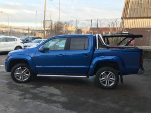 vw amarok tonneau lid rear back covers
