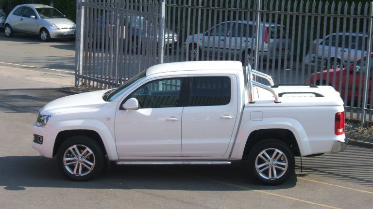 Volkswagen VW Amarok Top Up Cover Tonneau Lid with Styling Bars
