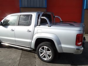 vw amarok top up cover styling bars tonneau lid 4 Pegasus 4x4