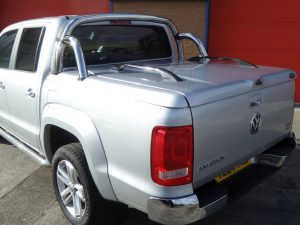 vw amarok top up cover styling bars tonneau lid 6 Pegasus 4x4